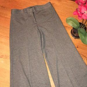 Theory size 2 gray pants wide leg